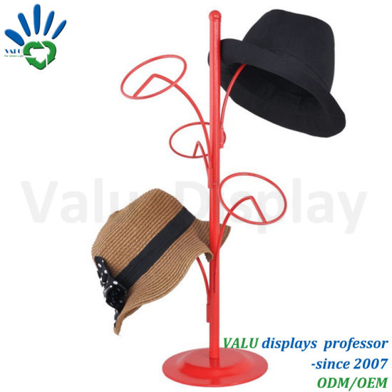 Ordinaire Round Display Rack Hat Rack For Hat Store Table Display