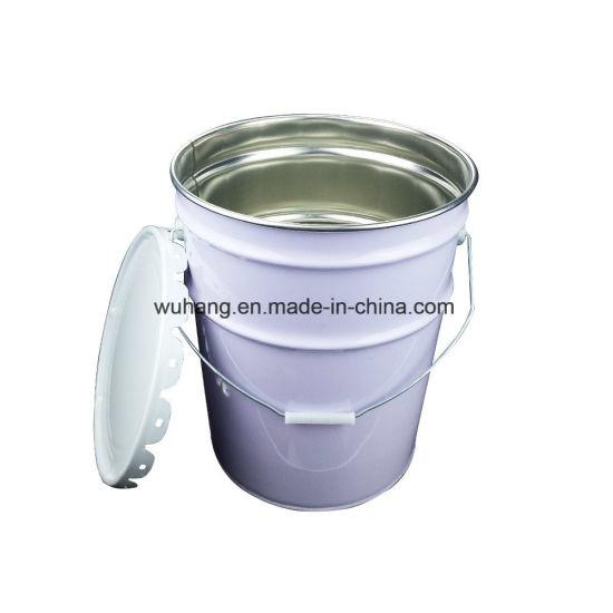 20 Liter/5 Gallon Tin Bucket with Lid Customized Metal Bucket