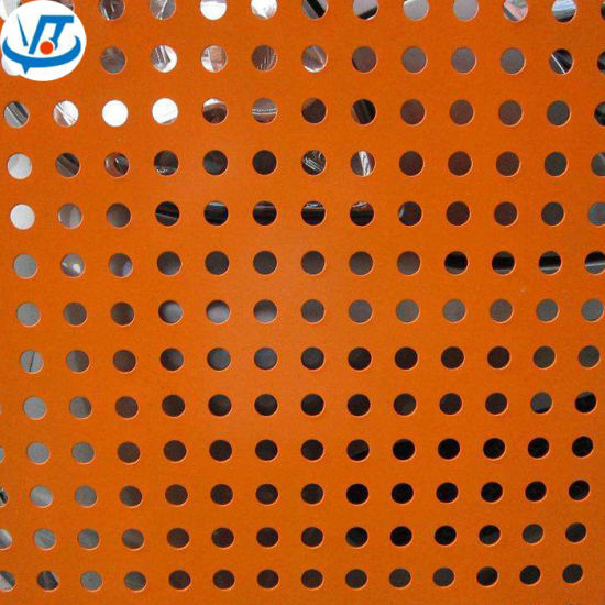 Color Precoated Steel Perforated Metal ASTM A36