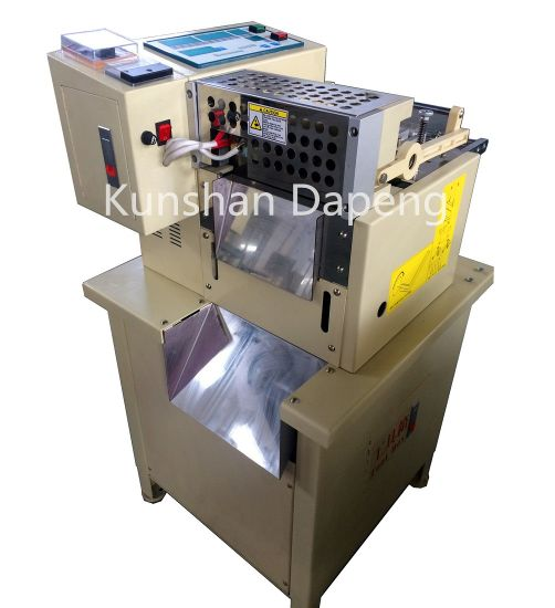 Magic Tape, Band, Tube, Sleeve, Webbing Strip Belt Cutting Machine (cold/hot module)