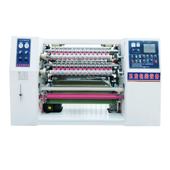 Yl-212 Automatic Slitting and Rewinding Machine for Super Clear Tape Processing