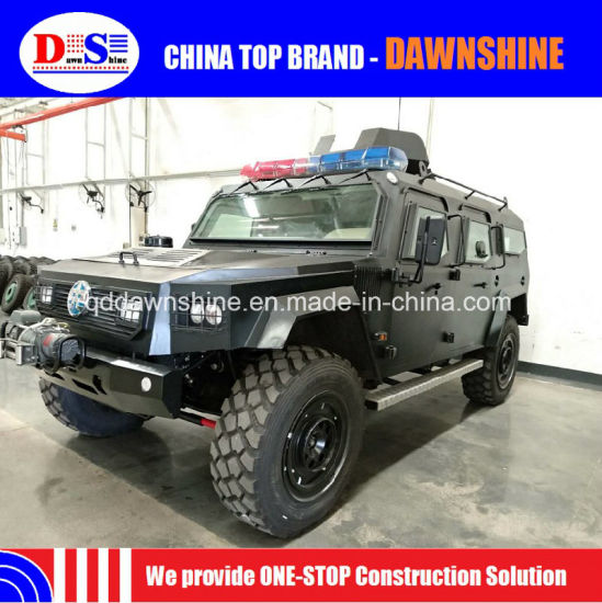 4X4 Military Armored Lightning Protection Assault Vehicle