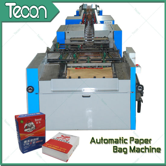 High-Speed and Fully Automatic Bottom-Pasted Paper Bag Making Machinery (ZT9804 & HD4913) pictures & photos