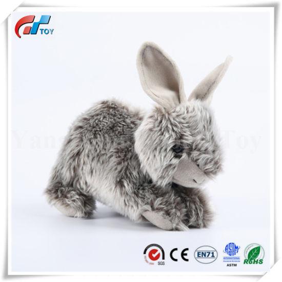 High Quality Custom Stuffed Rabbit Animal Soft Hare Toy Plush