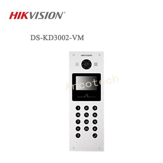 Hikvision Video Intercom Water Proof Doorbell Metal Door Station  (DS-KD3002-VM)