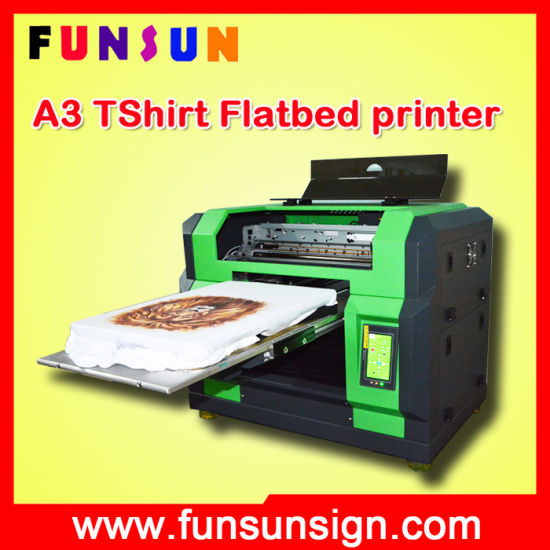 Best Price High Quality Funsun A3 Size Dx5 Head Canvas Printer with 8 Colors 1440dpi pictures & photos
