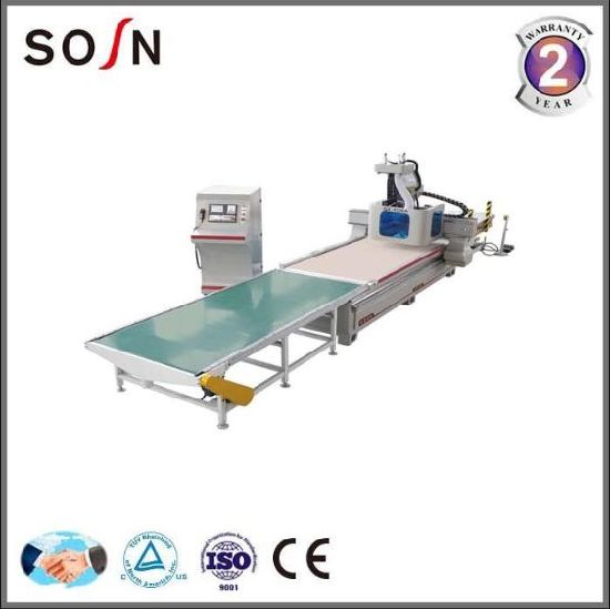 China Woodworking Machine Panel/Cabinet Furniture Making CNC Router