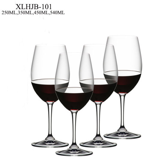 Lead Free Crystal Wine Glass Customize Wine Cup Goblet Flutes