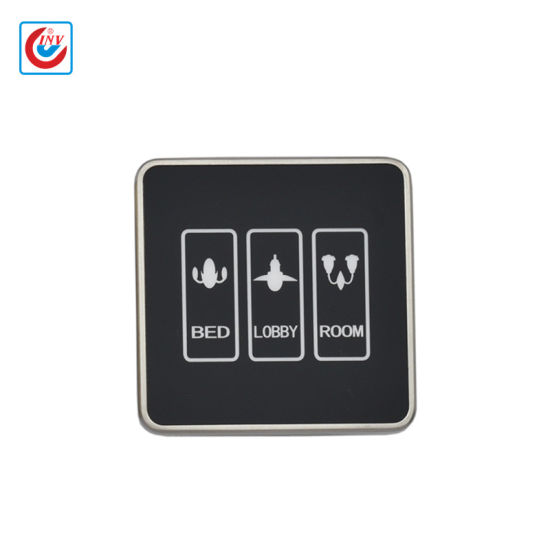 China Hotel Room Light Control Touch Screen Switch China Touch Screen Door Plate Control