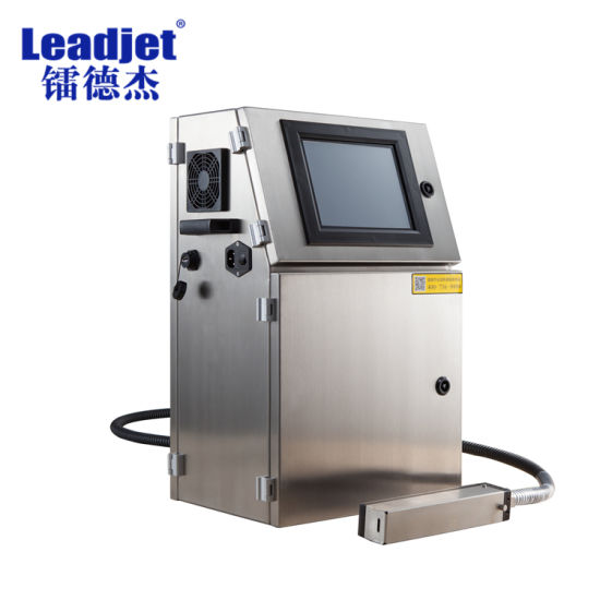 Leadjet Coding Inkjet Printer Date Code with Online Conveyor Belt V98 pictures & photos