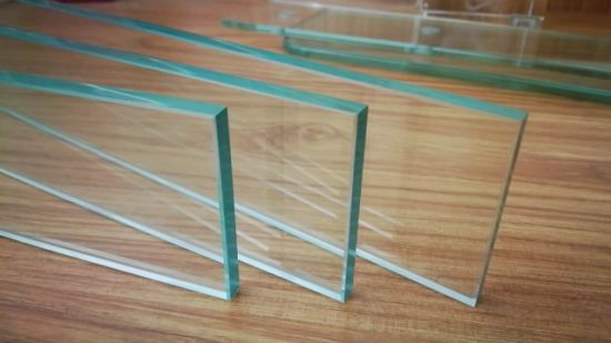 Safety Unbreakable Clear Full Tempered Toughened Glass Panel with CE Certificate