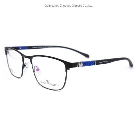 Fashion Model Designs Metal Slingshot Eyewear Flexible Light Tr90 Eyewear Optical Eyeglasses Frames