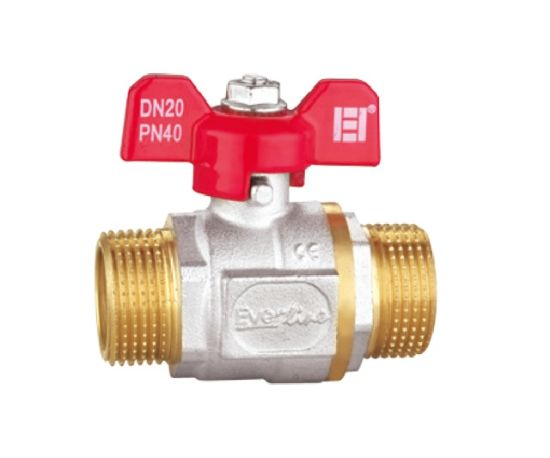 Ball Valve with Butterfly Handle (RB-DMM12A)