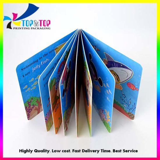 Factory Custom Cheap Postcard Cardboard Children Thick Paper Book Printing