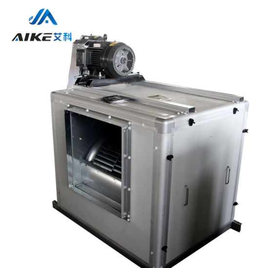 High Efficiency and Low Noise Centrifugal Fire Exhaust Fan Box