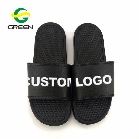 Greenshoe Latest Design Mens Sandal Slide Footwear EVA Sandal Custom Slide Slippers Men Slide Sandals