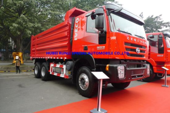 China Best Price Iveco Genlyon 6X4 Dump Truck 380HP pictures & photos