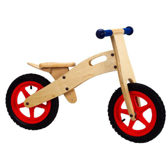 Kid Times Toys Factory Supply Wooden Walking Bike pictures & photos