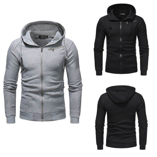 Factory Wholesale Men High Quality Casual Cheaper Sweatshirt Hoody pictures & photos
