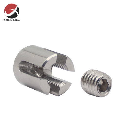 OEM Manufacturer Customized Precision Casting Cross Wire Rope Clip Stainless Steel SS304 316 Cross Cable Clamps for Cable Railing Wire Clamp/ Cable Hardware