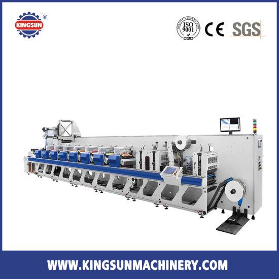 Kjr-330 High Speed Self-Adhesive Label Printing Machine