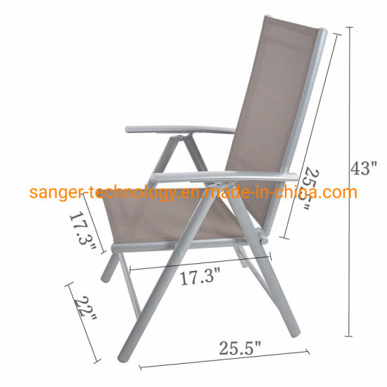 Wondrous China Folding Sling Chair Patio Adjustable Reclining Back Gmtry Best Dining Table And Chair Ideas Images Gmtryco