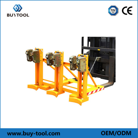 Double Grip Head Type Forklift Drum Grab