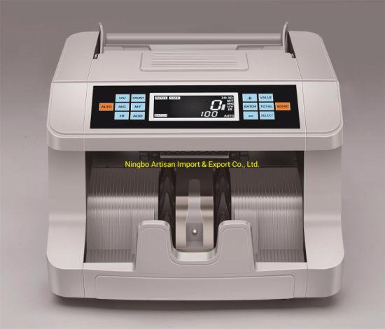 UV Mg Mony Banknote Detector Money Bill Counter 998