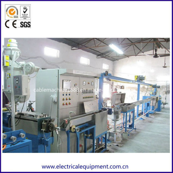 PTFE FEP PFA ETFE Teflon Wire and Cable Extrusion Machine
