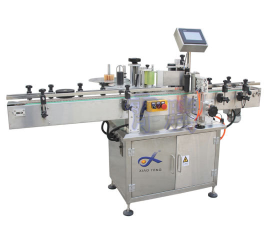 Automatic Vertical Round Bottle Labeling Machine for Plastic or Glass
