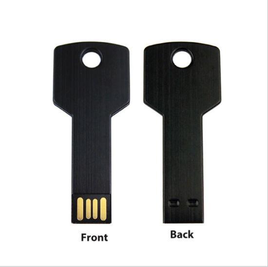 Metal Key USB Flash Drive Promotional Gifts Key USB Stick Pen Drive Memory USB Flash Drive for Customized Logo
