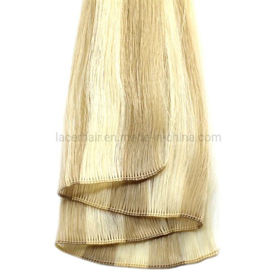 Hot Selling Best Quality Cheap Unprocessed Virgin Human Hair Extension Hand Tied Weft
