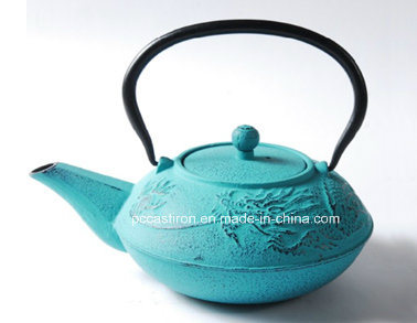 0.7L Chinese Antique Cast Iron Tea Kettle with Cups