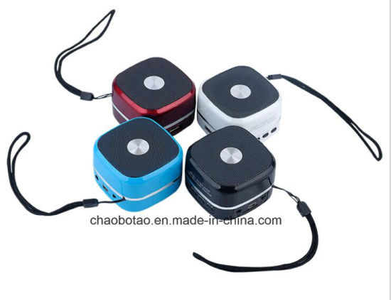 Portable Mini Bluetooth Speaker with FM Radio, Aux Line Ine, USB Slot and Custom Logo Service pictures & photos