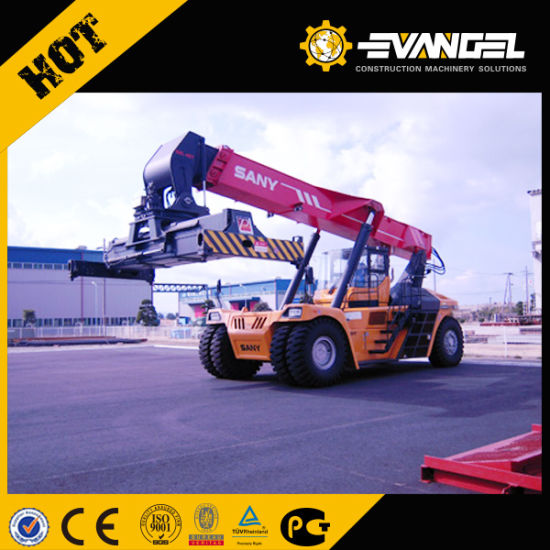 45 Tons Sany Container Reach Stacker Forklift Good Price Sale Srsc45h8a pictures & photos