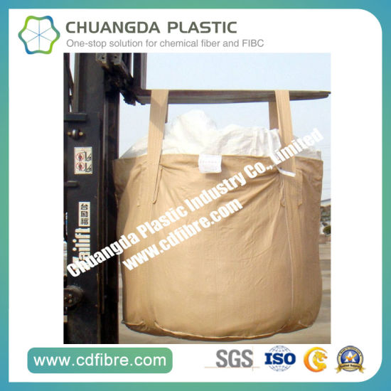 Bottom Lift Tubular Big Ton Bag FIBC Bulk Container Bag pictures & photos