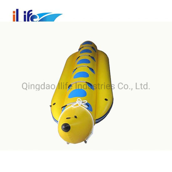 Ilife 5 Persons Inflatable Leisure Banana Boat Water Game pictures & photos