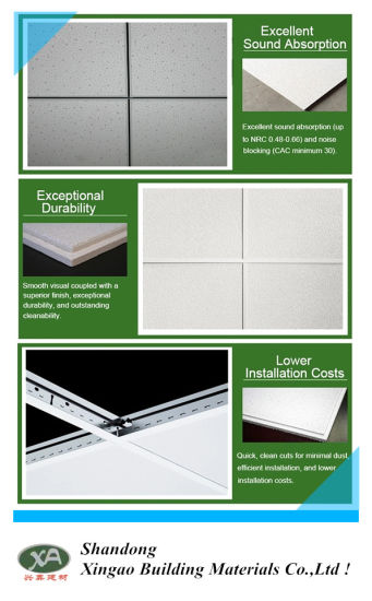 China 2x2 Drop Ceiling Panels Non