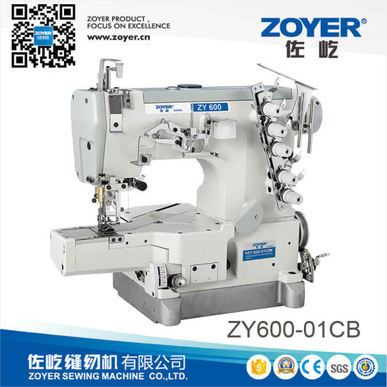 China Zy600 01cb High Speed Cylinder Bed Interlock Sewing Machine China Cylinder Bed Sewing Machine Interlock Sewing Machine