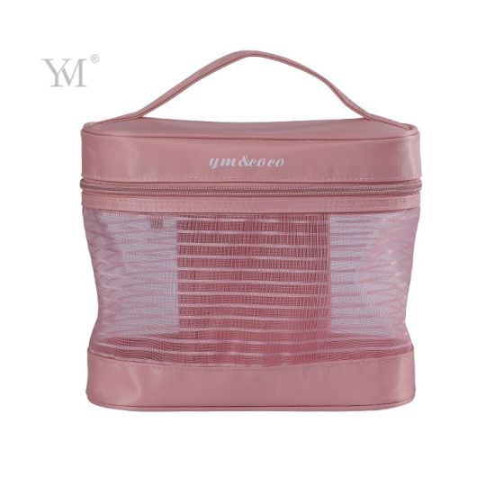 Hanging Perspective Mesh Toiletry Storage Cosmetic Bag