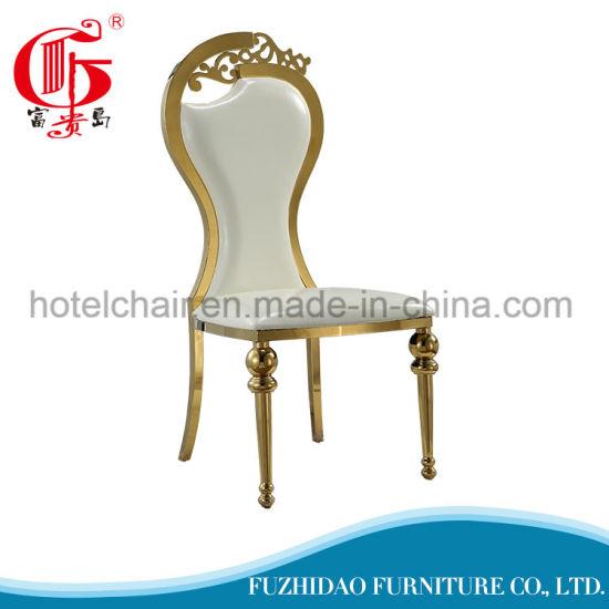 Simple Durable Fabric Restaurant Stool Dining Chair
