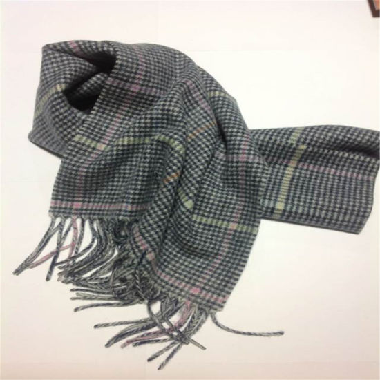 Swallow Gird Wool Scarf for Winter for Fashion Accessory