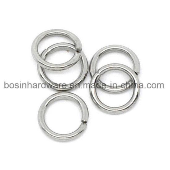 25 Silver Jump Rings 12mm Split Rings Thick Rings Wholesale Jewelry Findings