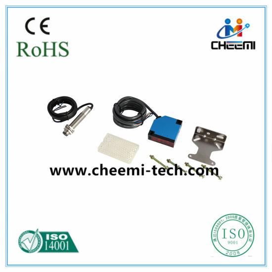 Angular Column Type Relay Built-in Photoelectric Switch Sensor Through-Beam DC AC Nc