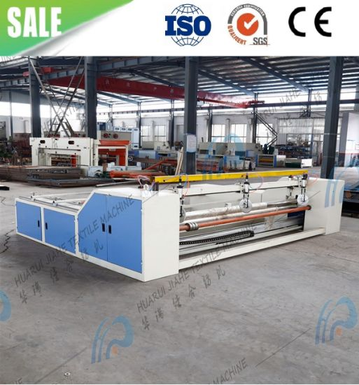Single Roll Nonwoven Fabric Sheet Cross Cutting Machine/ Roll to Roll Slit Rewinding Machine, Nonwoven Slitter Needle Punched Nonwoven Fabric Carpet