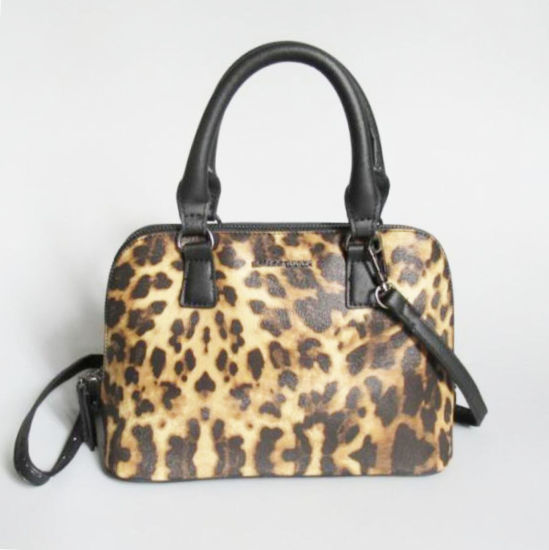 817dd2c75ec China Wholesale Leopard Print Leather Lady Tote Bag Women Travel ...