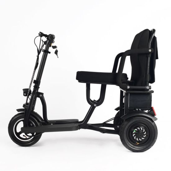 fashion Factory Directly Foldable Electric Mobility Scooter Bicycle