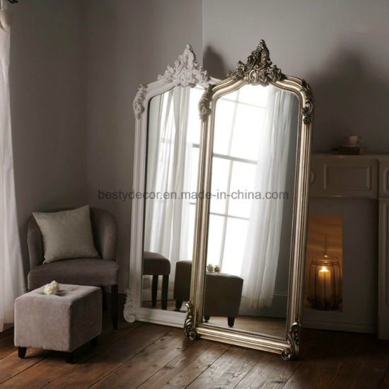 China Wall Decorative Polyurethane Frame Large Floor Mirror China Mirror Wall Mirrors