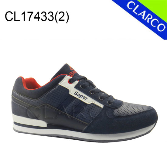 New Collection Men Casual Sneaker Shoes with TPR Sole pictures & photos