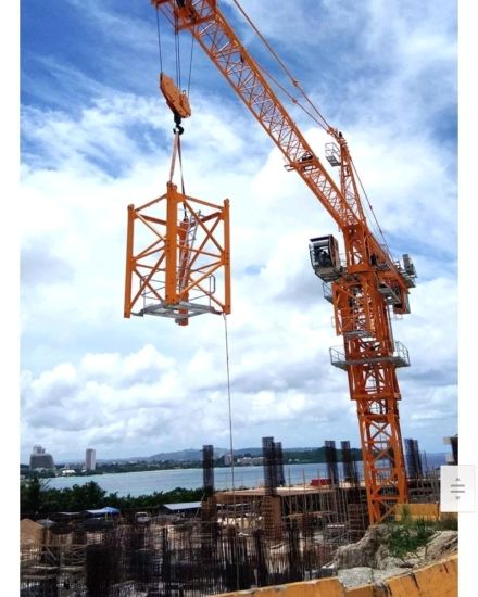 Dahan 10t Qtz125 (6015) Top Kit Tower Crane